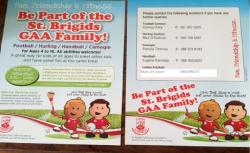 Info for St Brigids GAA