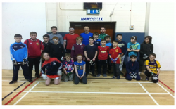 St Brigids Handball Section March 2017