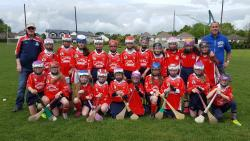U11 Camogie played Kilmacud on 21st in Russell Park