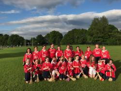 Camogie U11 played Ballyboden on 29th May- great games had by all