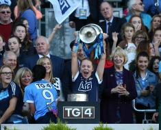 congratulations to Ciara Trant on winning her first TG4 LGFA All-Star award