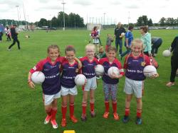St Brigids players enjoy the Lidl Future Stars Event in Russell Park