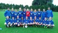 Manulla Ladies Mayo League Winners 2016.