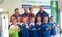U 9 Trophy Final Celtic Park.