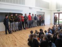 Under 21 visiting the WGH school
