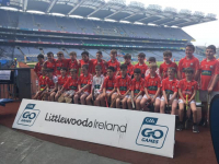 Under 12's travel to Croke Park