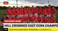 Hill Crowned Minor Champions
