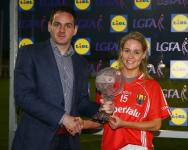 Orla Finn Player of the Match LIdl NFL 2016 Photo Tom Russell