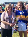 Caitlin Kennedy J Captain Tipperary and Marie Hickey  U14 All Ireland Blitz