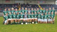 Limerick Junior Team into All Ireland 2018
