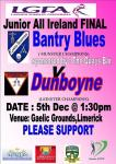 Bantry Blues in All Ireland Final