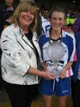 Aileen Wall player of the match TG4 semi 2015