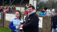 Sen A 2015 Player of the match Lauren Fitzpatrick