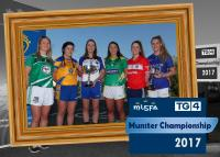 TG4 Munster Championships launch  Olivia Giltenane (Limerick), Laurie Ryan (Clare), Karen McGrath (Waterfor
