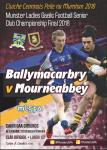 Mourneabbey v Ballymac Munster senior club final 2018