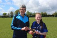Laoise Brown Scoil Pol Kilfinnane Lidl Munster PPS Junior D 2 Cup champions 2018