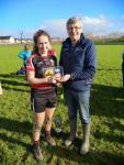Munster PPS Sen D Emma O Donoghue  player of the match