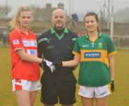 Cork v Kerry minors with Tony Fox referee