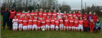 Cork LGFA U14 team 2017