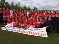 Cork MLGFA U18 Champions 2015