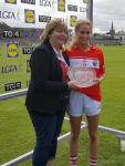 Orla Finn Player of the match Cork v Galway 2017 TG4 QF