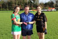 Munster Junior A Anna Rose Kennedy Ref Mike Meade and Aine Fitzgerald