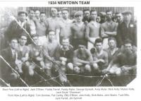 1934 Newtown Team