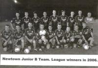 Junior B League Winners 2006