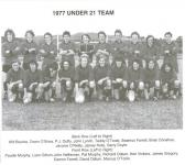 1977 Under 21 Newtown Team