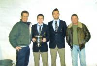 Dixie Odlum, Dean Odlum, Garrett Doyle and Gerry Davis in New York