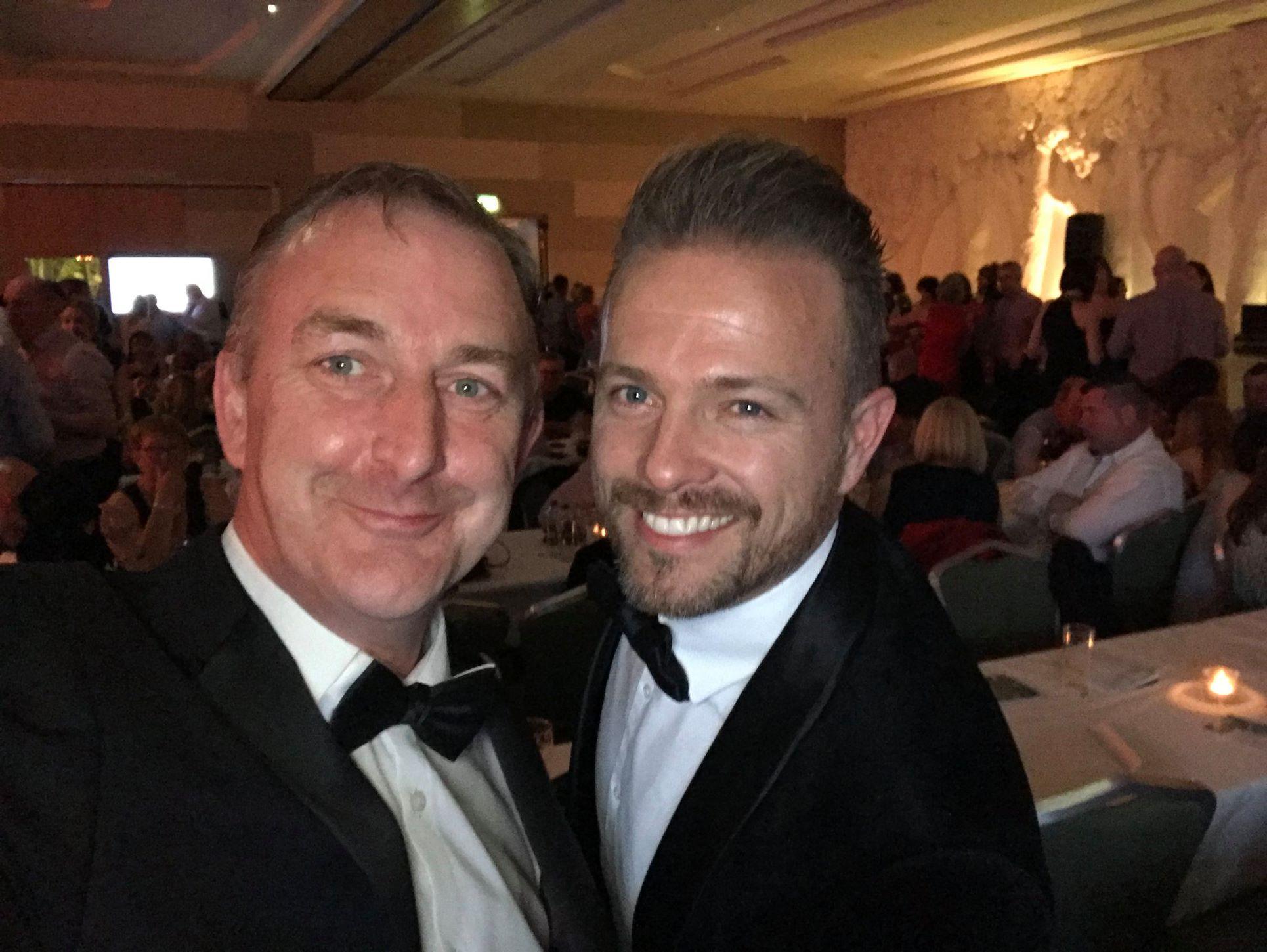 Hosts Adrian Kennedy & Nicky Byrne