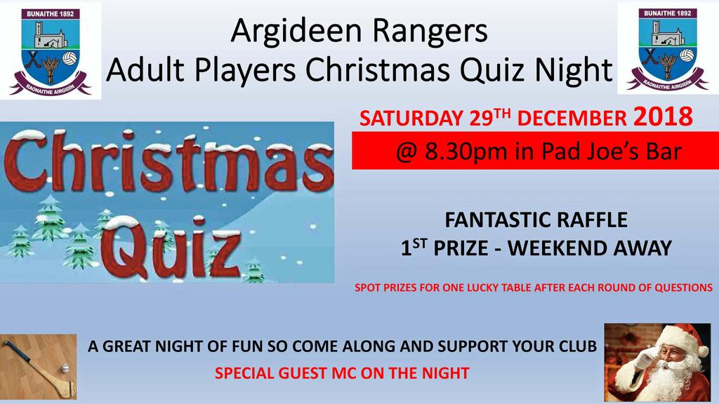 Quiz Dec 29th