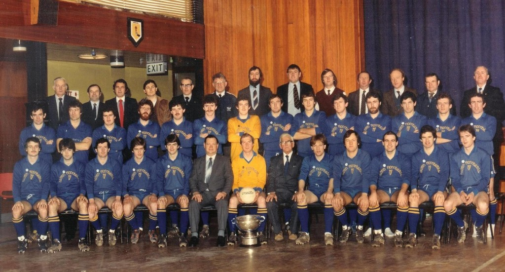 6b6646d2111f County and Munster Champs 1982. Back  D Hurley