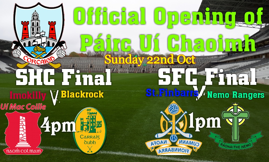 98bd9353daba1 Adult tickets now on sale online until Wednesday noon at corkgaa.tickets.ie