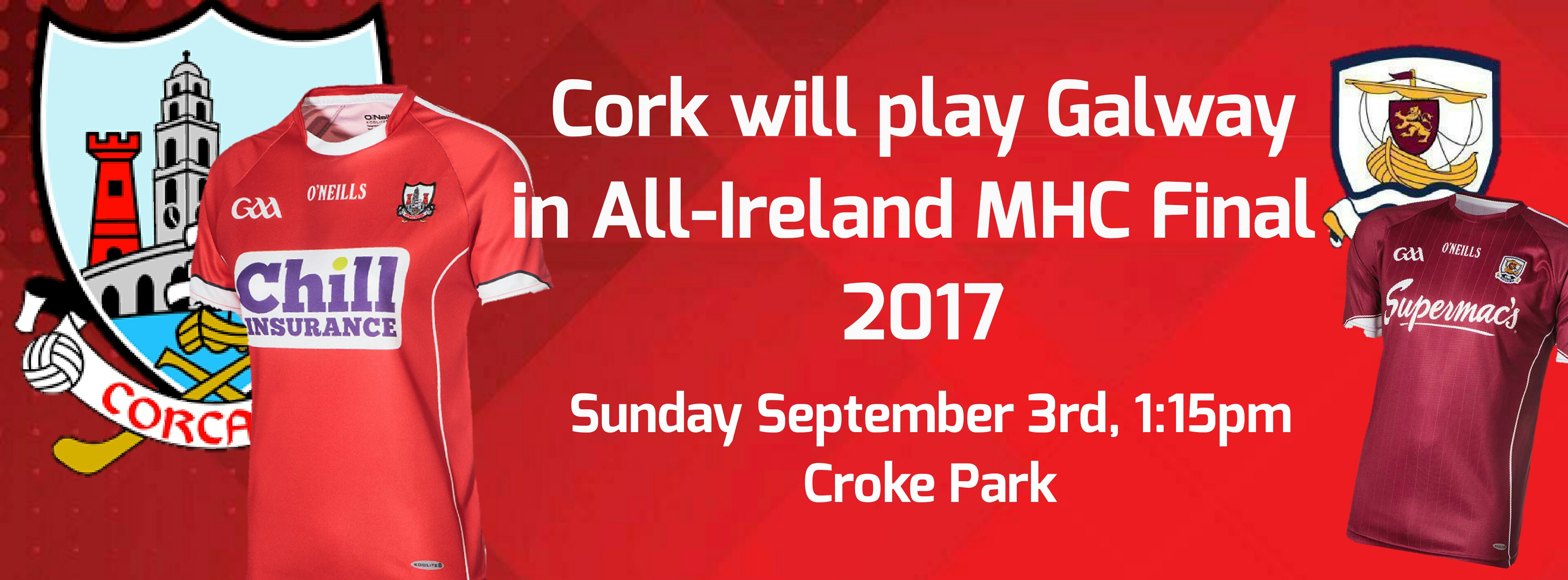cbf894b8100a9 Cork Minor Hurlers will play Galway in the 2017 Minor Hurling Final 2017  Cork's path to the final saw them start their programme in the play-off  round as ...