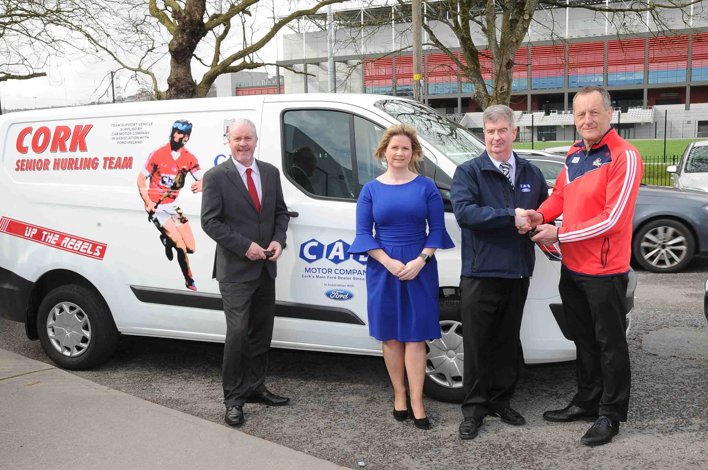 02bae8cf30 Presentation by CAB motor group of kit vans to Cork senior teams