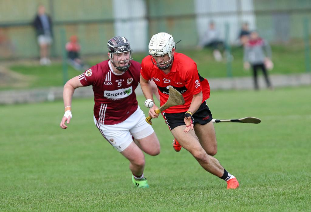 Brian in action for UCC.
