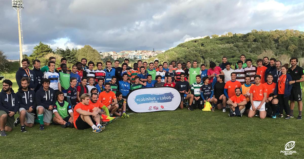 3d30868f1ac65 Enquadrada no estágio de carnaval da Seleção Regional Sul de Sub-16, o  Centro de Alto Rendimento de Rugby do Jamor, em Oeiras, recebeu uma ação de  ...