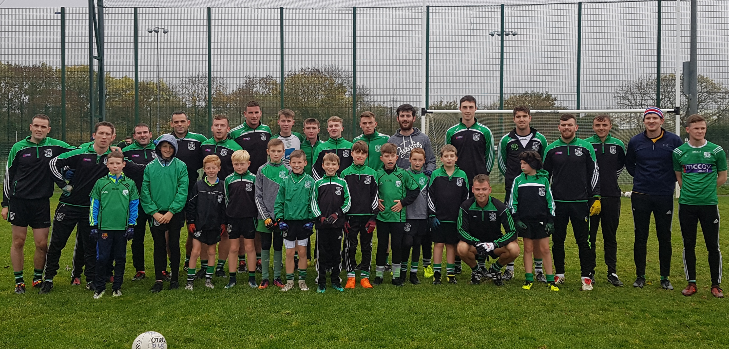 Lucan Sarsfields GAA Club Notes Monday 15 October