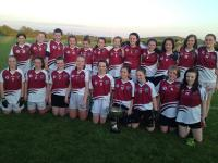 St Brigids Under 14 Girls Football County A Cup Champions 2013