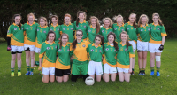 Monagea U16A League Finalists 2014