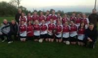 St Brigids Under 16 Girls Football County A League Champions 2013