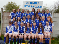 Old Mill U14A Co Champions 2014