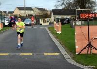 Conor Coakley, first Juvenile home in the 5km Race