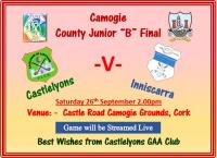 Camogie Final 2020