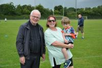 Catriona and Fr Coleman