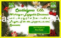 Happy Xmas from Castlelyons GAA