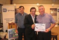 Hall of Fame presentation to Thomas Harrington by Marty Morrissey Sept. '15