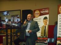 Chairman Gary Tobin at the 2014 Cookey Demo