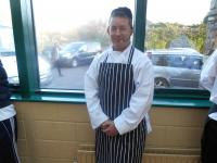 Chef Aidan Ryan at the 2014 Cookery Demo